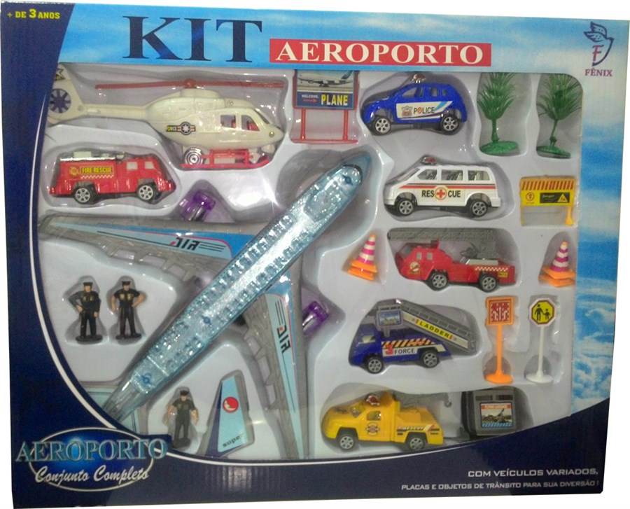Kit Aeroporto Completo - Fênix