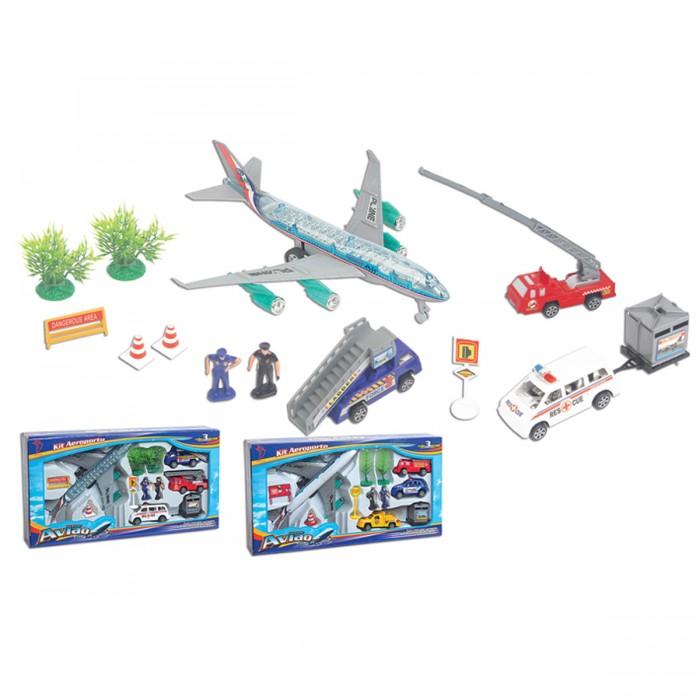 Kit Aeroporto Avião Pequeno 12 Peças - Fênix