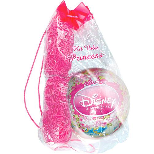 Kit de Vôlei Princesas Disney Rosa - Lider