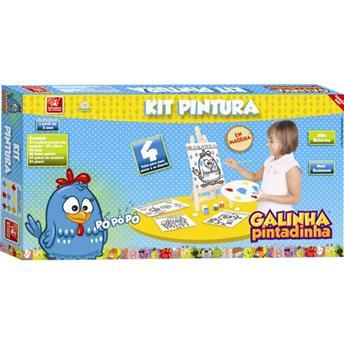 Kit Pintura Galinha Pintadinha - Brincadeira de Criança