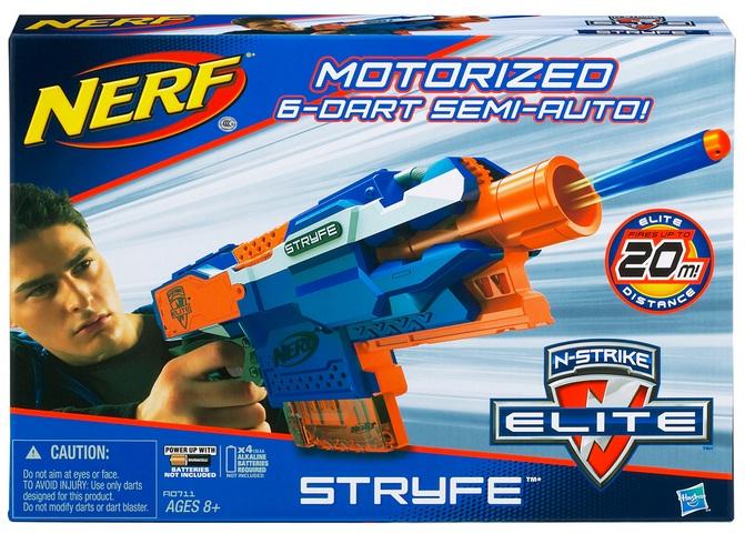 Lançador de Dardos Nerf N-Strike Elite Stryfe - Hasbro