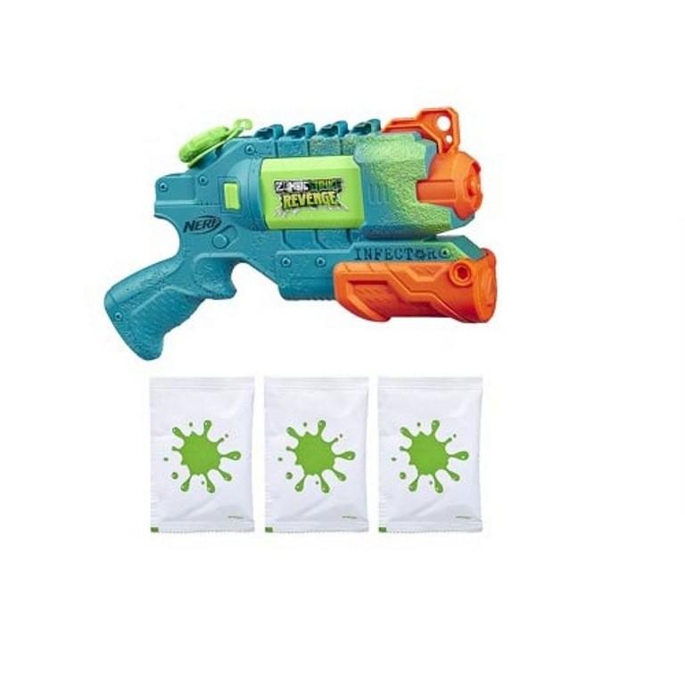 Lançador de Água Nerf Super Soaker Zombie Strike Revenge Infector - Hasbro