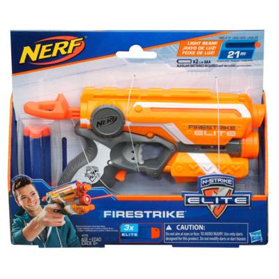 Lançador de Dardos Nerf N-Strike Elite Firestrike - Hasbro