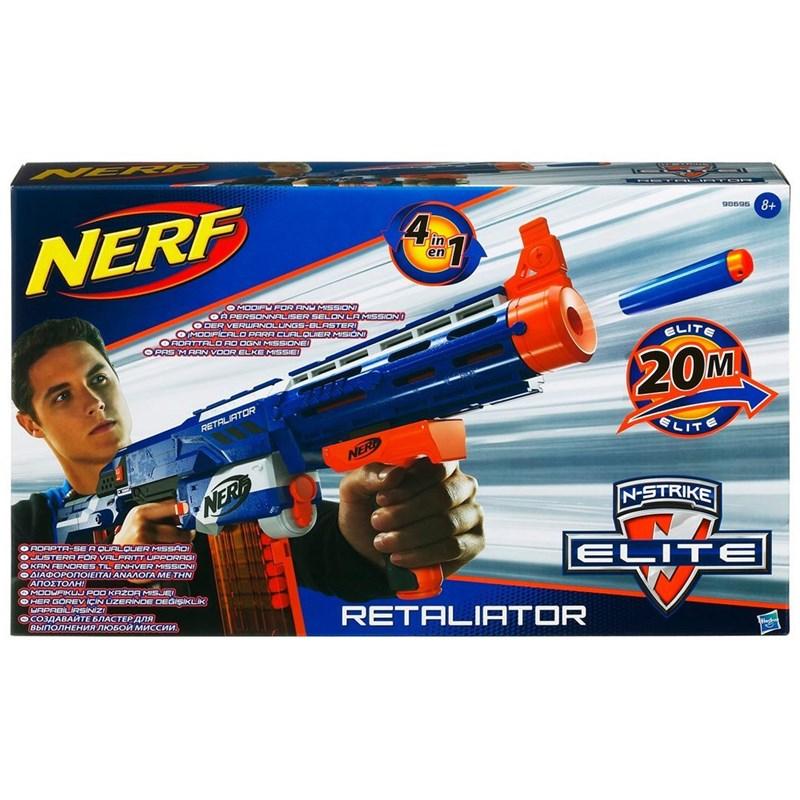 Lançador de Dardos Nerf N-Strike Elite Retaliator - Hasbro