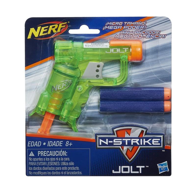 Lançador de Dardos Nerf N-Strike Jolt Color Verde - Hasbro