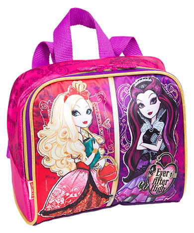 Lancheira Escolar Ever After High Rosa/ Roxa - Sestini