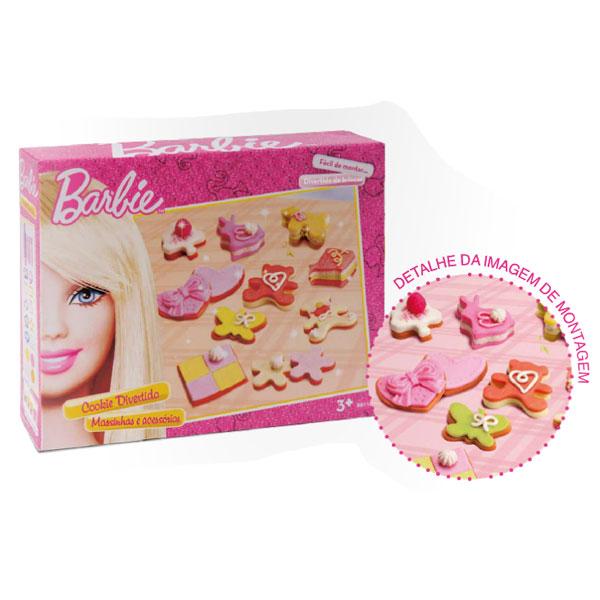 Massinha Cookie Divertido Barbie - Fun