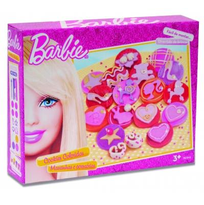 Massinha Cookies Coloridos Barbie - Fun Brinquedos
