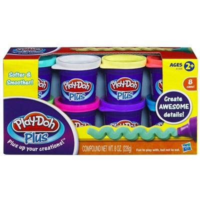 Massinha Play-Doh Massinhas Plus com 8 Cores - Hasbro