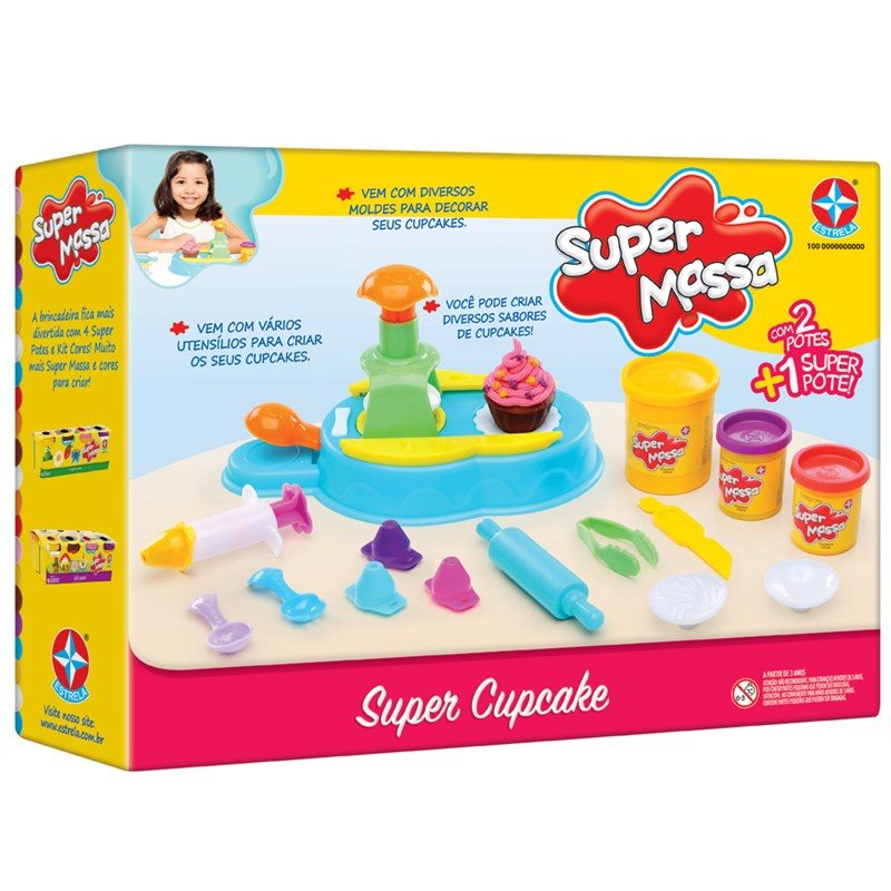 Massinha Super Massa Super Cupcake - Estrela