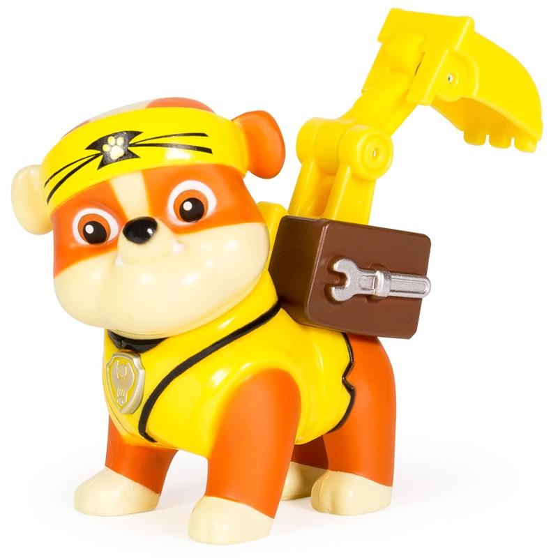 Mini Boneco com Mecanismo Patrulha Canina Série Heróis Karatê Rubble - Sunny
