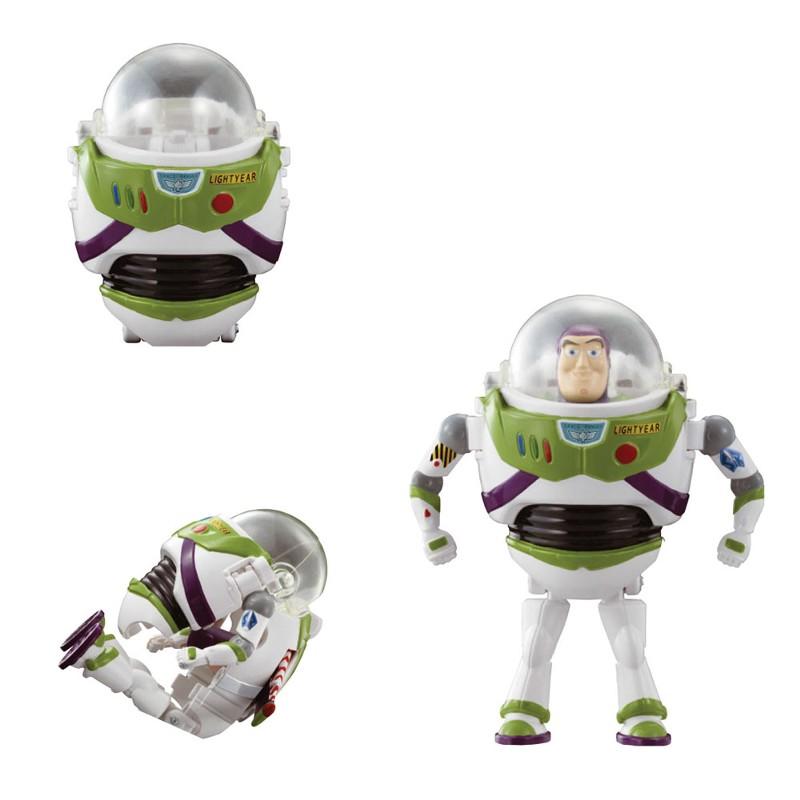 Mini Boneco Hatch N'Heroes Disney Toy Story Buzz Lightyear - DTC