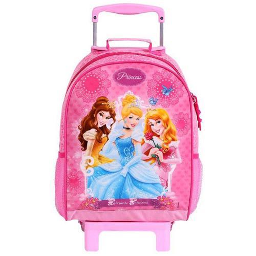 Mochila com Rodinha Grande Princesas Disney - Dermiwil