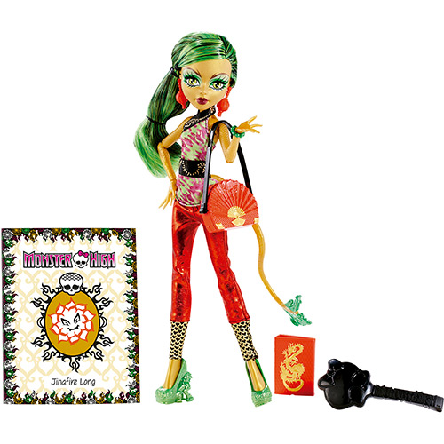 Boneca Monster High Foto de Terror Jinafire Long - Mattel