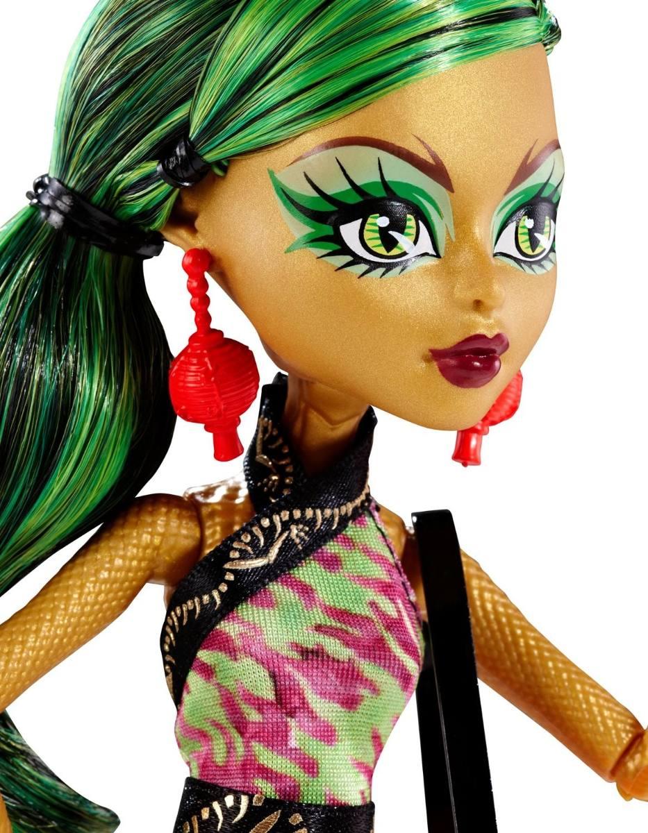 Boneca Monster High Foto de Terror Jinafire Long - Mattel