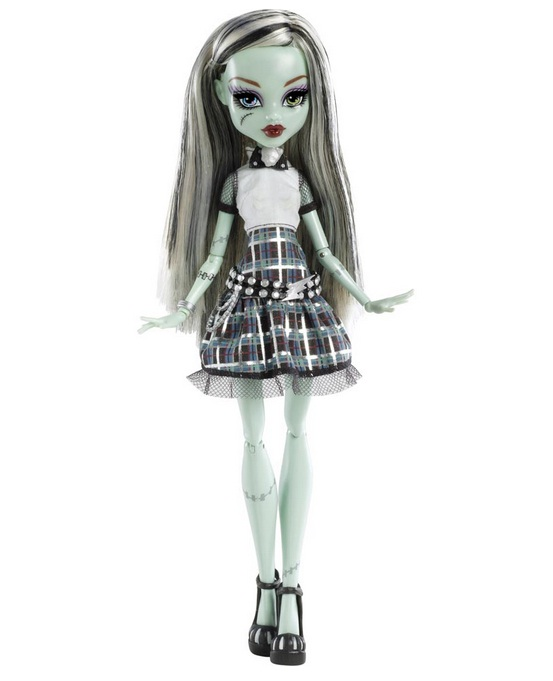 Boneca Monster High Frankie Stein Choque Eletrizante - Mattel