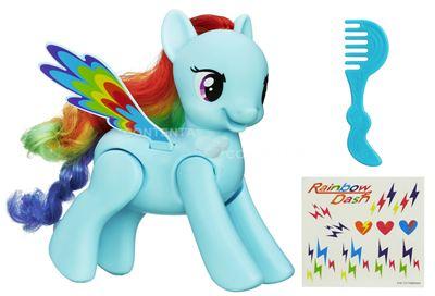 Boneco My Little Pony Rainbow Dash Acrobata - Hasbro