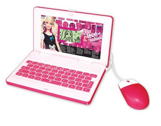 Netbook da Barbie Fant�stica Tampa 3D - Oregon