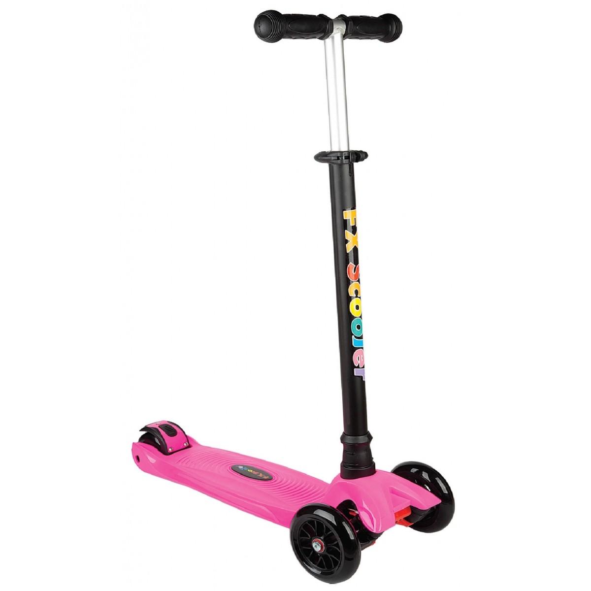 Patinete Scooter Radical Pink 3 Rodas - Fênix