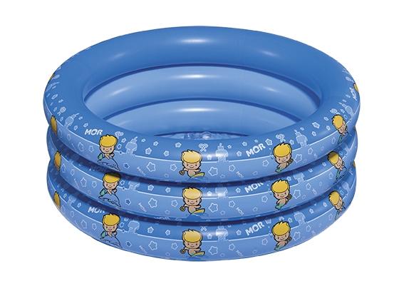 Piscina Inflável Infantil Atlantis 90 Litros Redonda Azul  - MOR
