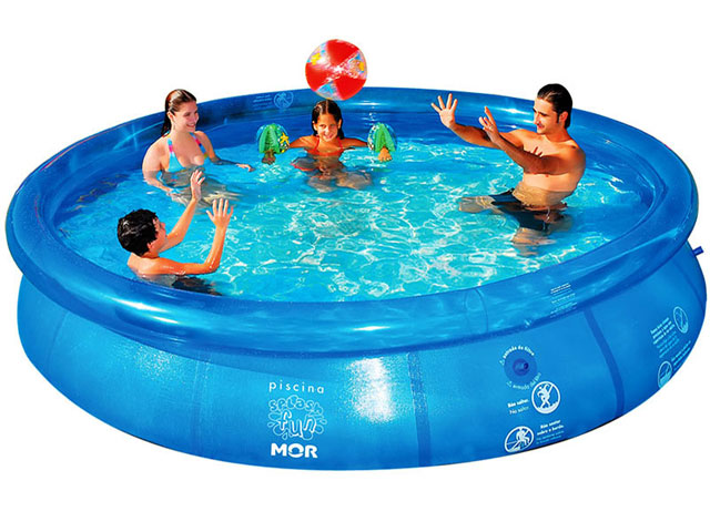 Piscina Inflável Splash Fun 7800 Litros - MOR