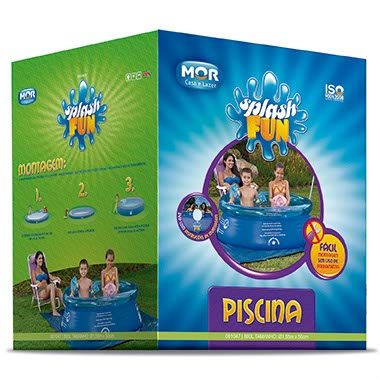Piscina Infl�vel Splash Fun 800 Litros - MOR
