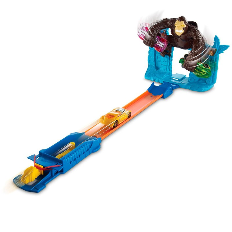 Pista Hot Wheels Radical Escape do Gorila - Mattel