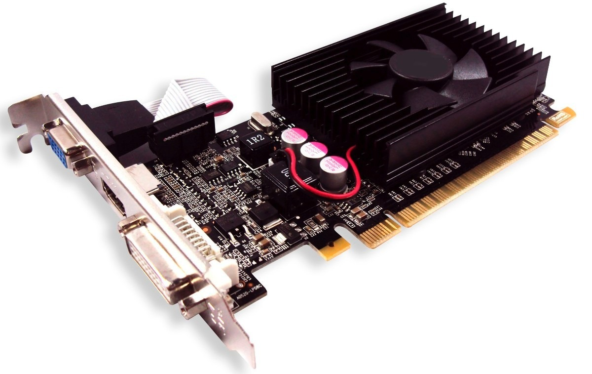 Placa de Vídeo Geforce 8400 GS 1GB DDR2 64 Bits - Mymax