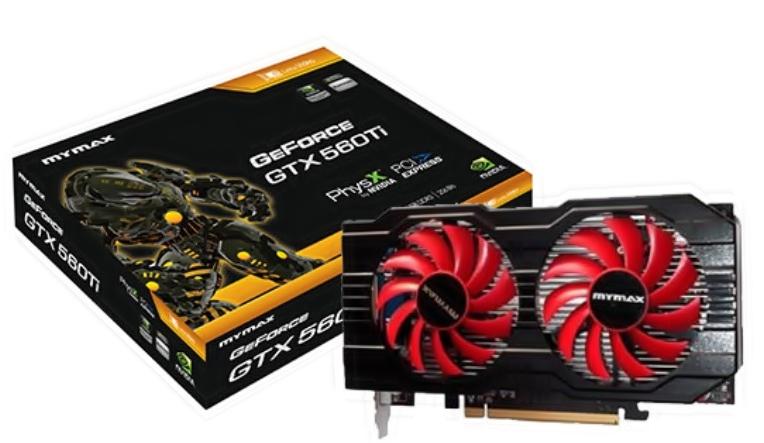 Placa de Vídeo Geforce Gtx 560Ti 256 Bits - Mymax