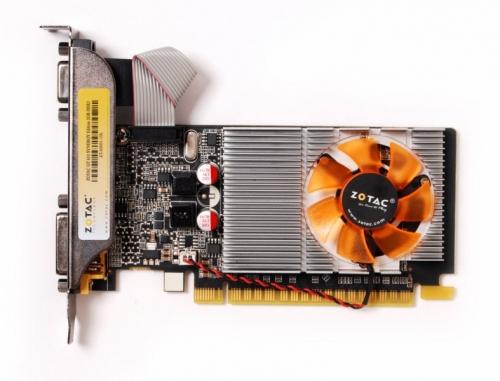 Placa de Vídeo Zotac Geforce GT 610 DDR3 2GB 64-Bits DVI/ VGA/ HDMI