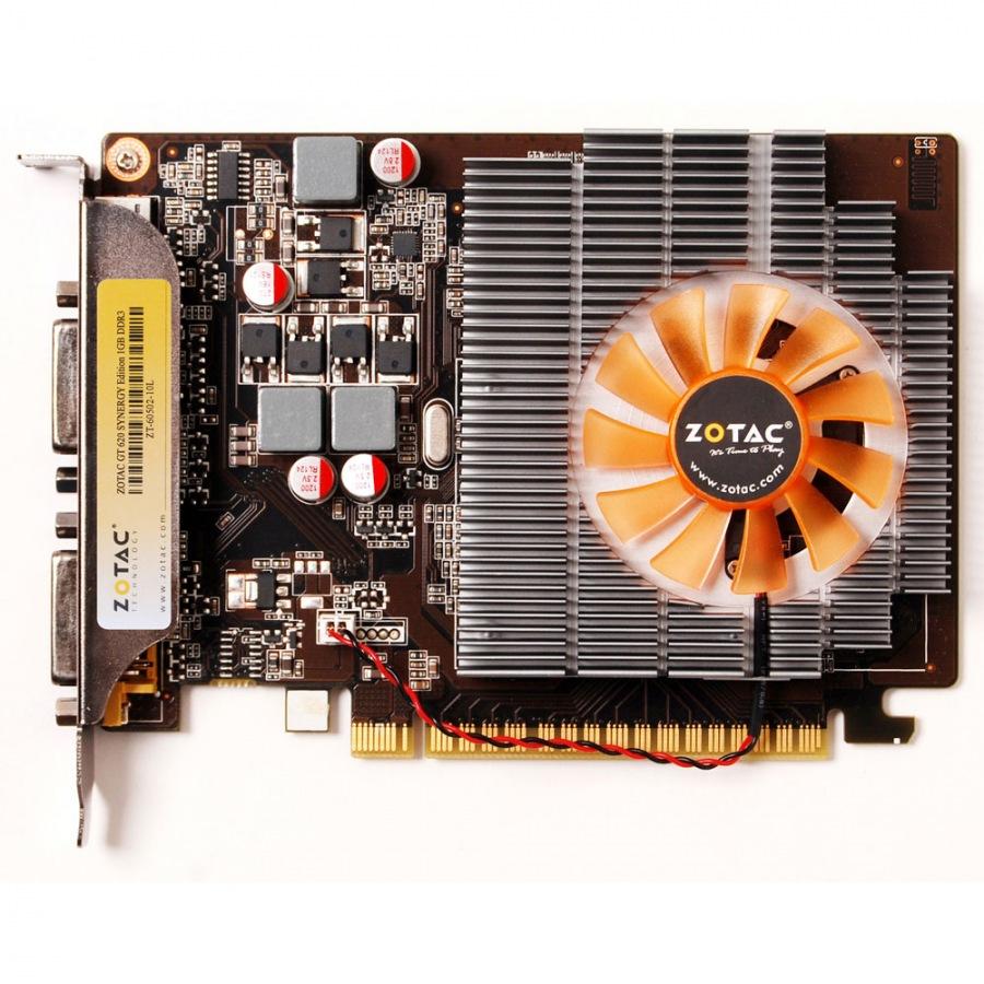 Placa de Vídeo Zotac Geforce GT 620 1GB DDR3 64-Bits Pci Express