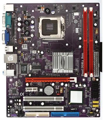 Placa Mãe Intel Socket 775 G31t-M DDR2 800Mhz c/ IDE OEM Vs Company