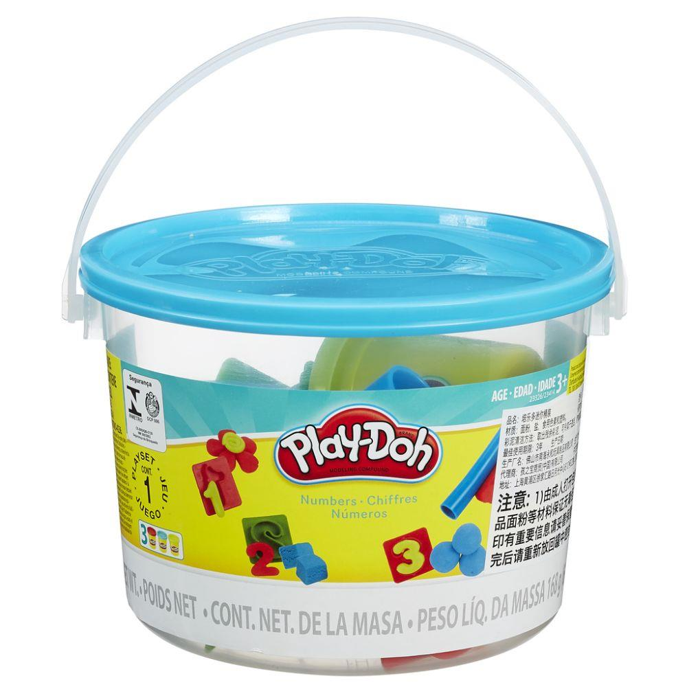 Massinha Play Doh Mini Balde Números - Hasbro