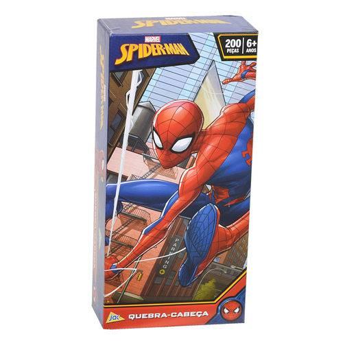 Quebra-cabeça Spider Man Marvel 200 Peças - Jak