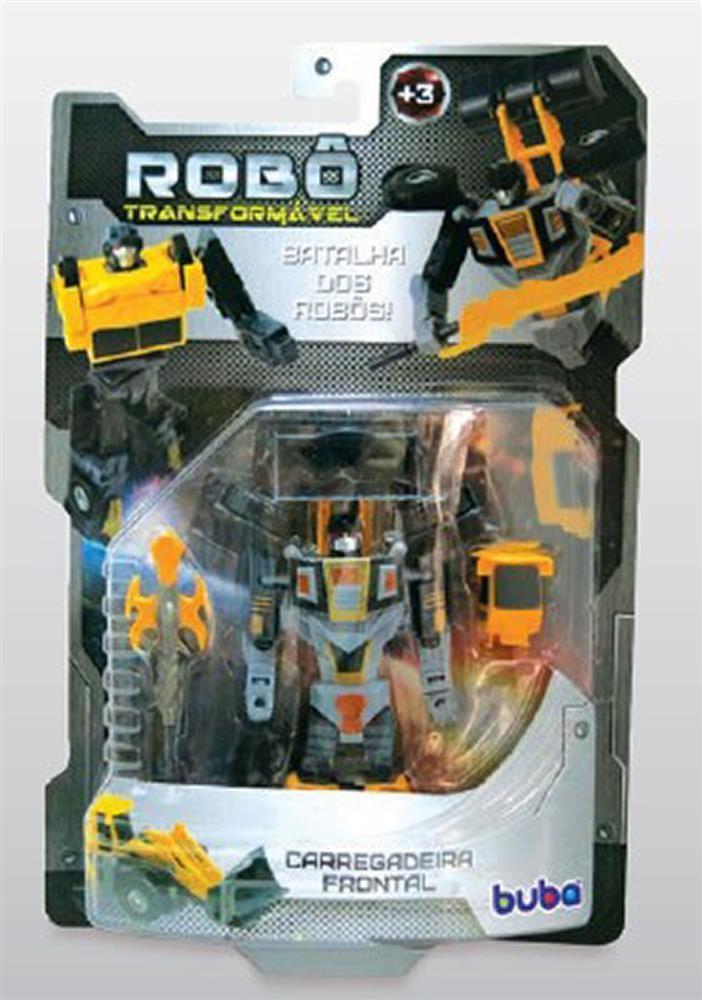 Robô Transformável Carregadeira Frontal - Buba