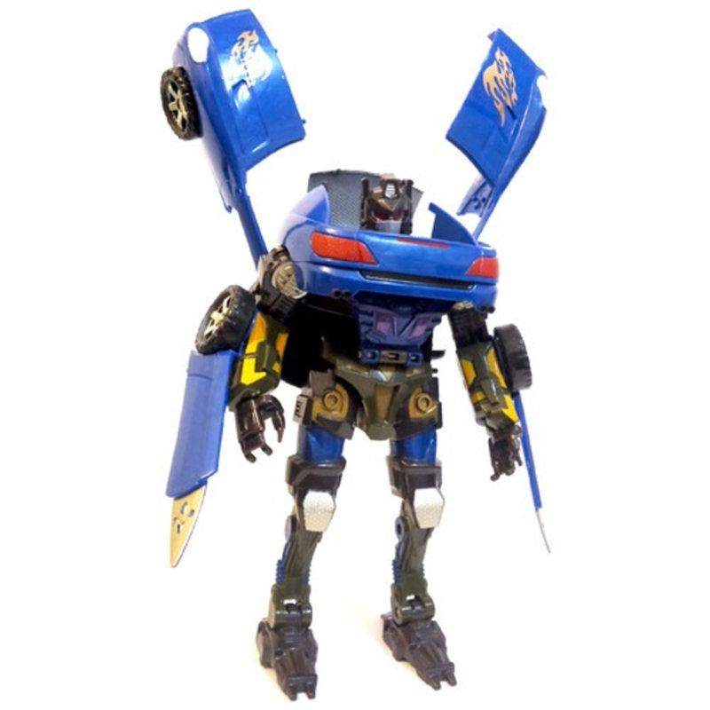 Robô Transformável Super Missão Carro Azul – Buba