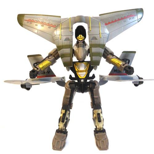 Robô Transformável Super Missão Jato – Buba