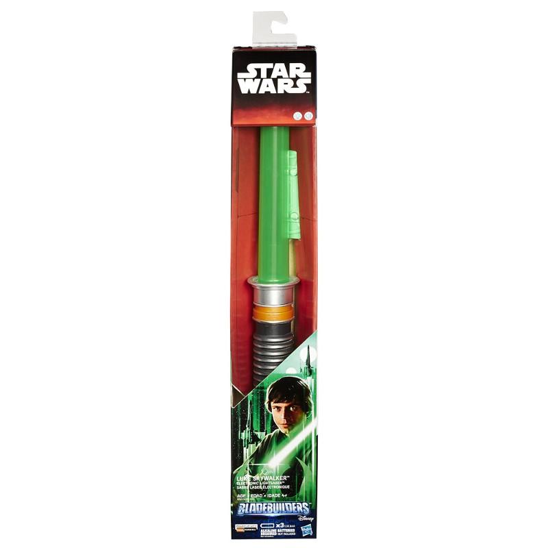 Espada Sabre de Luz Eletrônico Star Wars Episódio VII Luke Skywalker - Hasbro