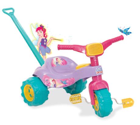 Triciclo Tico Tico Fada com Empurrador - Magic Toys