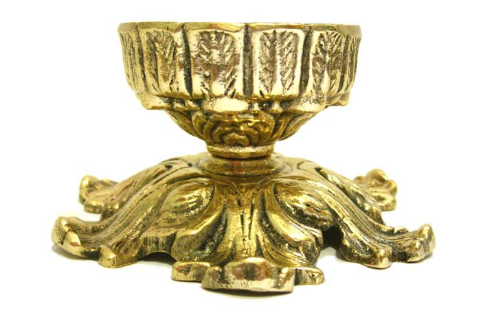 Castiçal - P/ Velas de 7 dias - Bronze  - Vela Votiva  - BronzeShop