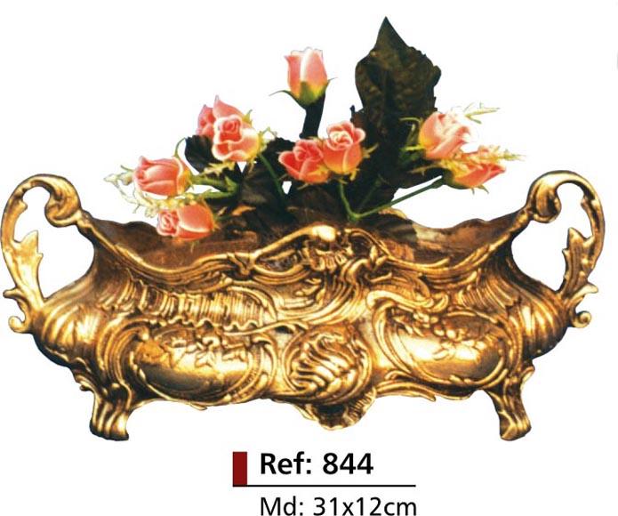 Cachepot Floreira - Bronze Polido Brilhante -   ref:844  - Bronze Shop