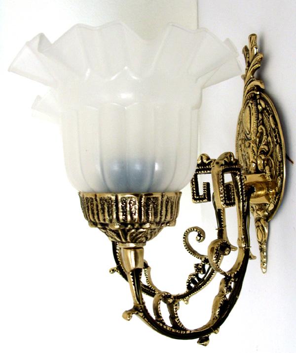 Luminária Arandela - 2 Tulipas - Bronze  -   ref: 314-2  - Bronze Shop