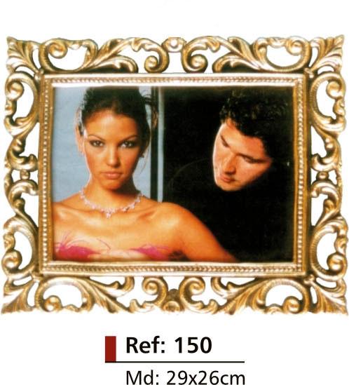 Porta-retrato Grande - Bronze Polido  - ref: 150  - Bronze Shop