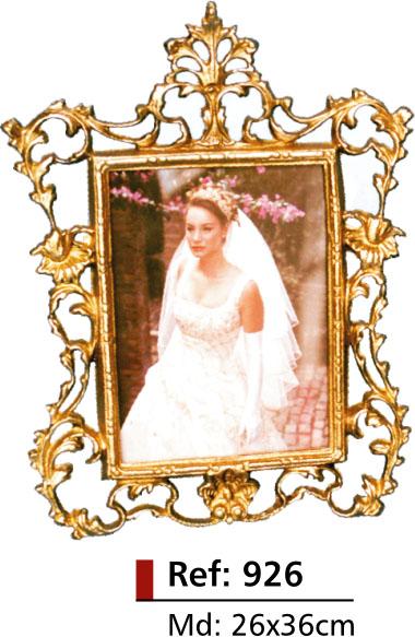 Porta-retrato noiva - Bronze -   ref: 926  - Bronze Shop