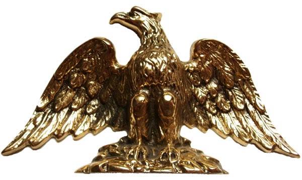 Estátua Águia - Bronze Maciço  - BronzeShop