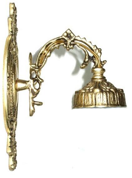 Arandela em Bronze Sem Tulipa 017  - Bronze Shop