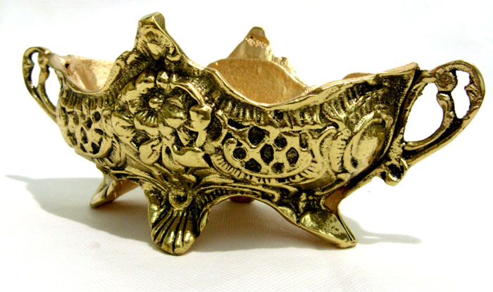 Cachepot Floreira - Bronze - Rica em Detalhes  - Bronze Shop