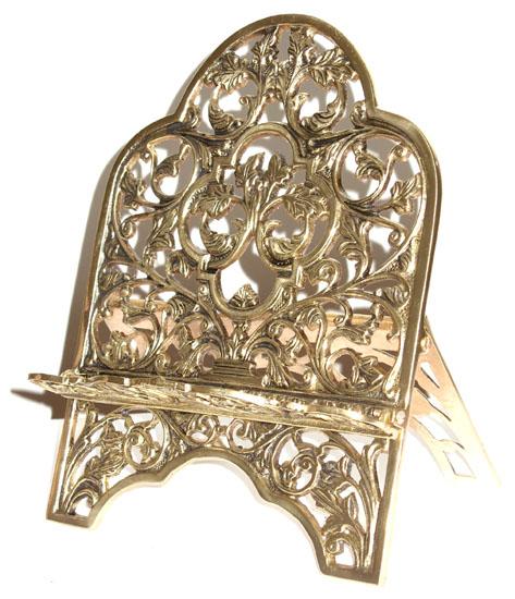 Porta Bíblia Tradicional- Bronze Polido - Rico em Detalhes  - Bronze Shop