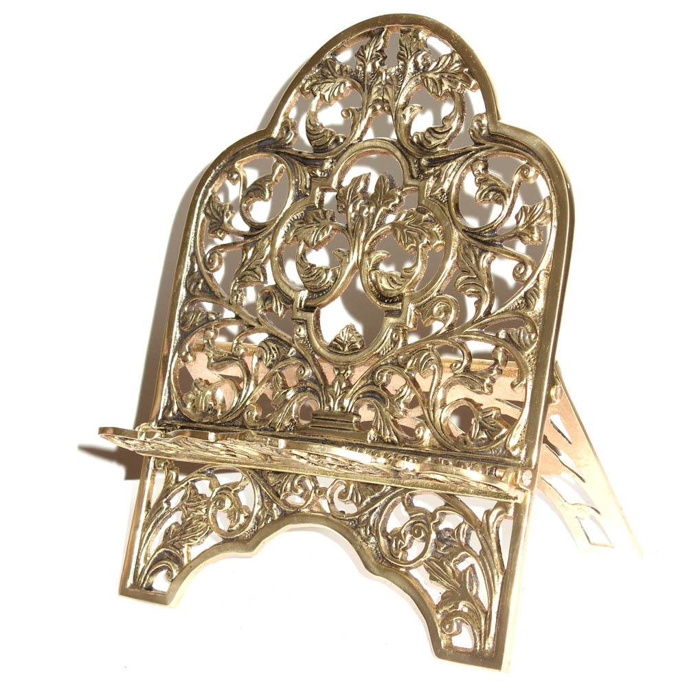 Porta Bíblia Tradicional- Bronze Polido - Rico em Detalhes  - BronzeShop