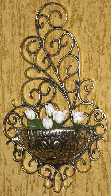 Floreira de parede - Porta-Flores Cachepots  - BronzeShop